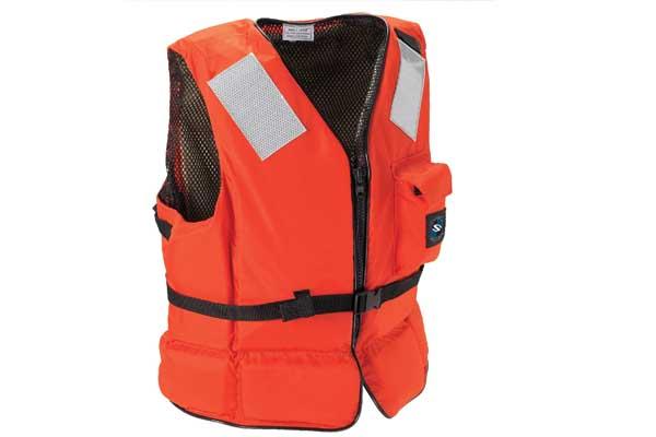 Alat pelampung keselamatan untuk yang bekerja di atas air