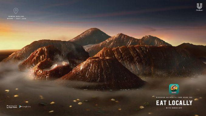 iklan produk kecap bangau Mountain