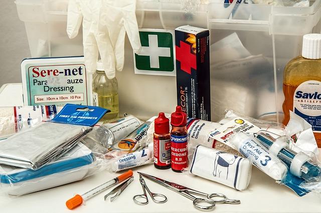 Peralatan Pertolongan Pertama Pada Kecelakaan di Tempat Kerja