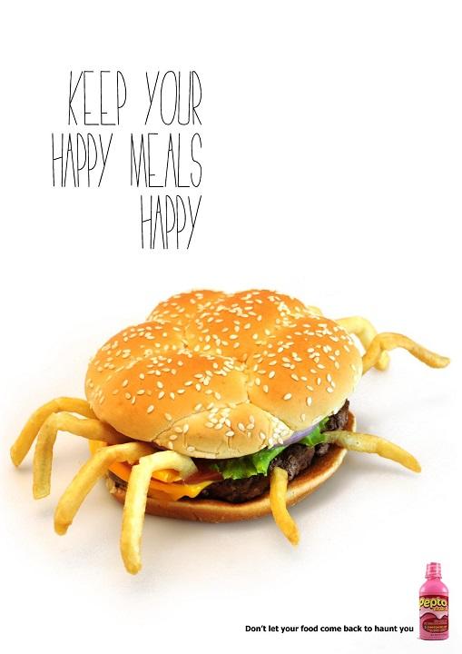 Unhappy meal, 1