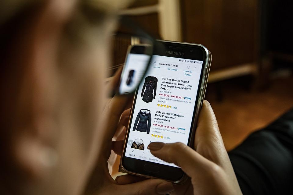 tampilan toko online yang menarik