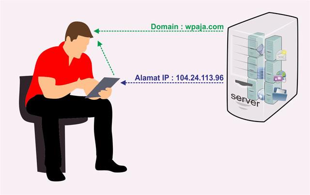 domain name-server manusia