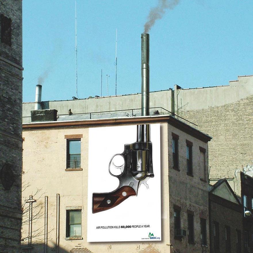 Contoh iklan layanan masyarakat Polusi Udara