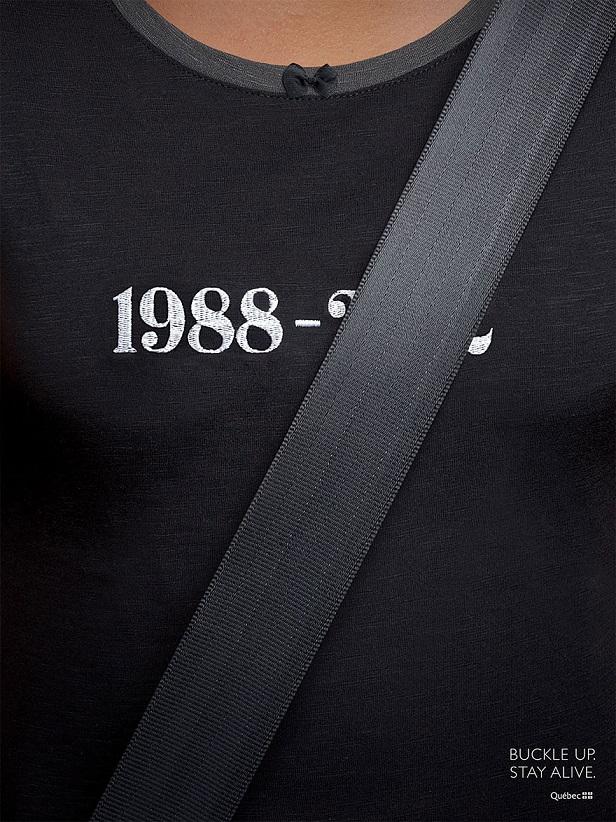 Contoh iklan layanan masyarakat sabuk pengaman saat berkendara