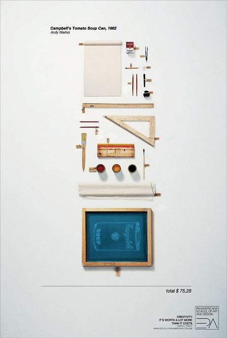 Iklan sekolah seni dan desain 1
