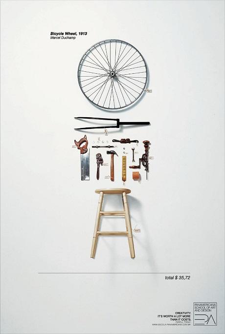 Iklan sekolah seni dan desain 3