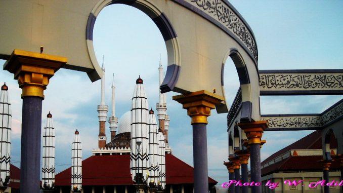 Wisata Jawa Tengah - Masjid Agung Jawa Tengah