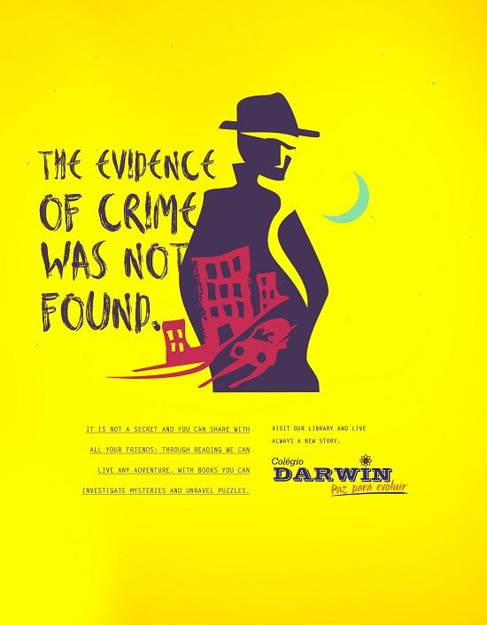 iklan pendidikan gemar membaca darwin crime