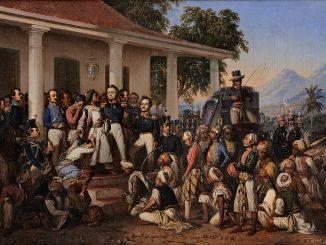 KIsah Penangkapan Pangeran Diponegoro