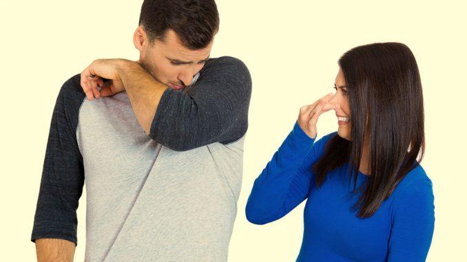 Menghilangkan bau ketiak
